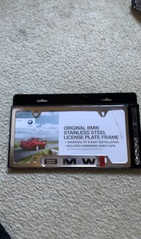 BMW license plate cover