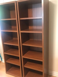 Two used bookcases brown Markham, L3T 1T4