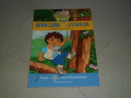 Go, Diego, Go! Mad Libs Junior book