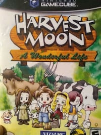 3x gamecube games marvel Nemesis and harvest moon Toronto, M8Z 1X1