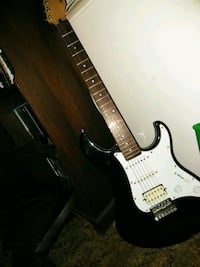 black and white stratocaster electric guitar Floral City, 34436