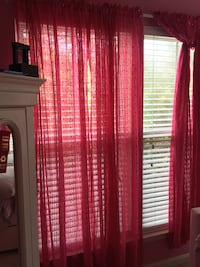Pink panels curtains Warrenton, 20187