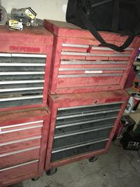 2 empty tool boxes for 300 two pieces each in Redwood City  Redwood City, 94061