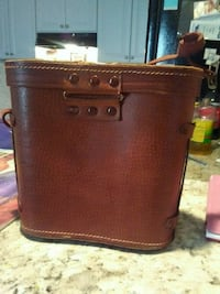 brown and black leather bag Kennesaw, 30152
