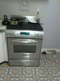 gray and black gas range oven Silver Spring, 20904