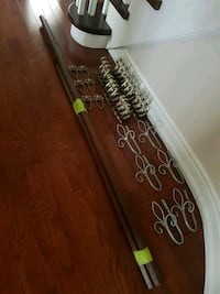 3 non extendable Curtain Rod 15pc. Brampton, L6Y 3P2
