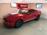 Ford - Mustang - 2008 Shelby GT500,   5000 miles one owner many extras. Autographed by Carroll Shelby Homer Glen