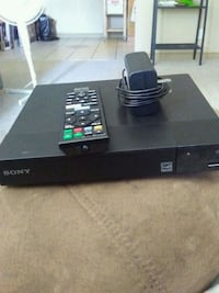 black Sony DVD player with remote Edmonton, T5B 0S2