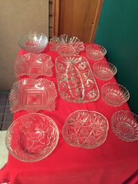 Assorted Glass Serving Dishes Mississauga, L5A 2J1