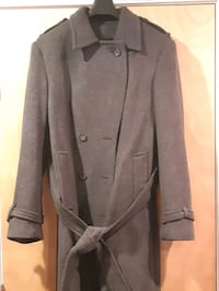 Custom made Cashmere wool trench coat