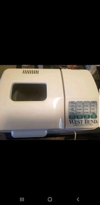 Bread & Dough Maker 50$ + 2 Recipe Books Montréal, H4T 1V6