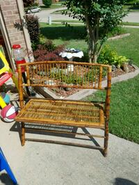 Bamboo bench in excellent condition Rockwall, 75087