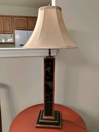 brown and white table lamp Frederick, 21701