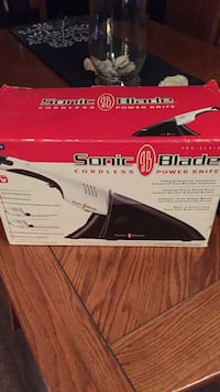 BNIB Sonic blade cordless power knife box White Rock, V4B 2A6