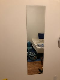 Frameless Full Length Wall Mirror New York, 11103