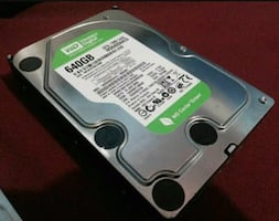 Hard disk WD 640GB..