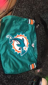 NFl Dolphins Bag Tag still on Moore, 73160