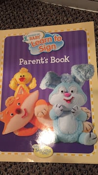 New Baby learn to sign parents book. Vaughan, L4J 5L7