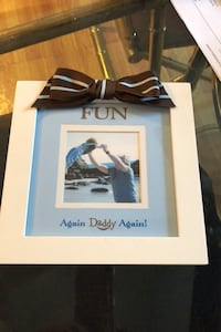 A. Daddy again picture frame