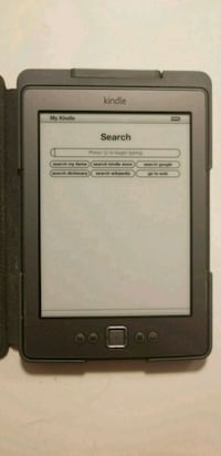 Kindle Electronic Book Reader Chicago
