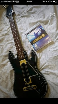 black and brown electric guitar 743 km