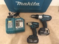 MAKITA 18v LXT Power Tools Combo  Toronto, M9A 4W3