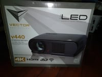 3d hd projector with 72in screen Delta, V4C 6V1