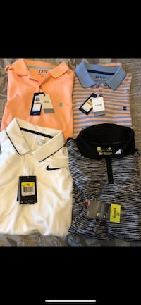 Men's small new polos $200 worth for trade  Los Angeles, 90732