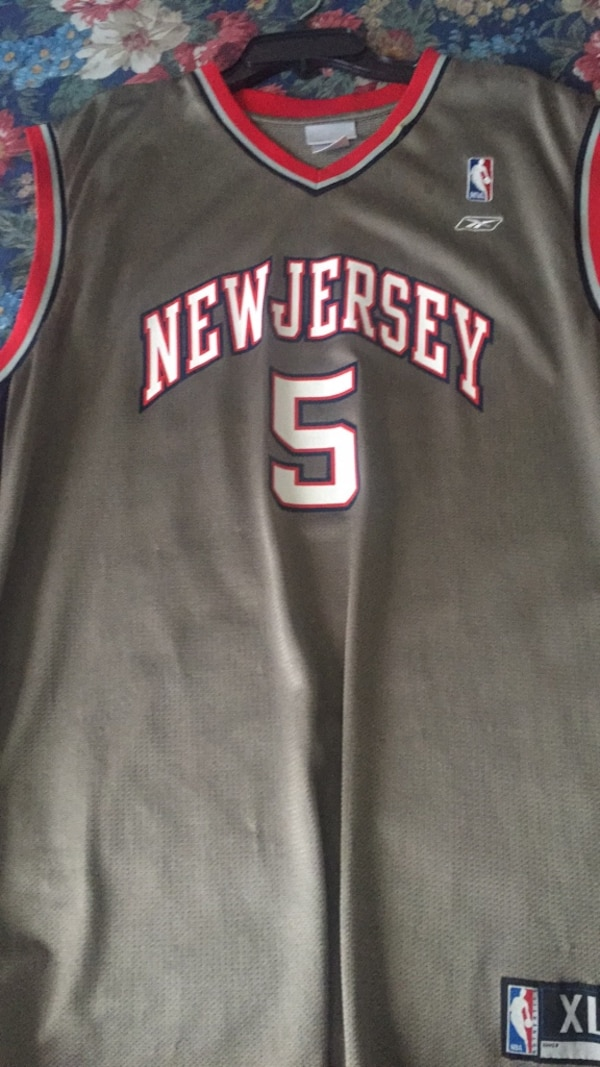 best sneakers 3f621 735f0 Jason Kidd Jersey *New Jersey Nets* XL