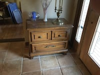 brown wooden end table South Brunswick, 08528