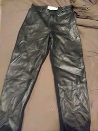 Leather pants Twins brand and leather skirt