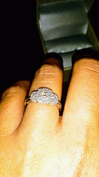 silver-colored diamond ring Knoxville