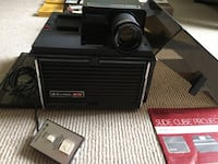 Vintage Bell and Howell projector and film slide cases Toronto, M4E 2C1