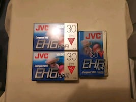 JVC Compact VHS Tapes
