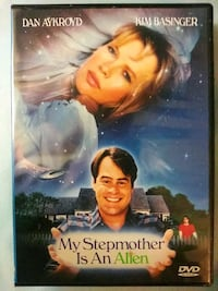 My Stepmother is an Alien dvd