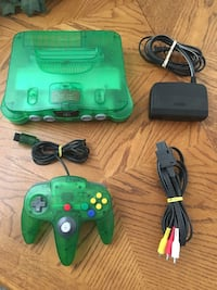 Nintendo 64 n64 special edition Jungle Green Lakewood, 80226