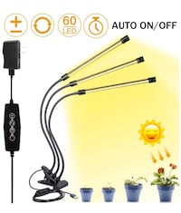 Brand new Grow Light for Indoor Plant,Elaine 30W LED Auto ON/Off Timer 马卡姆, L6E 2C4