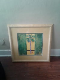 brown wooden framed painting of flowers Milton, 32570