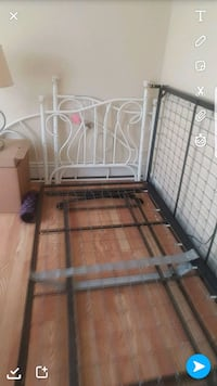 Day bed single with trundle under bed.