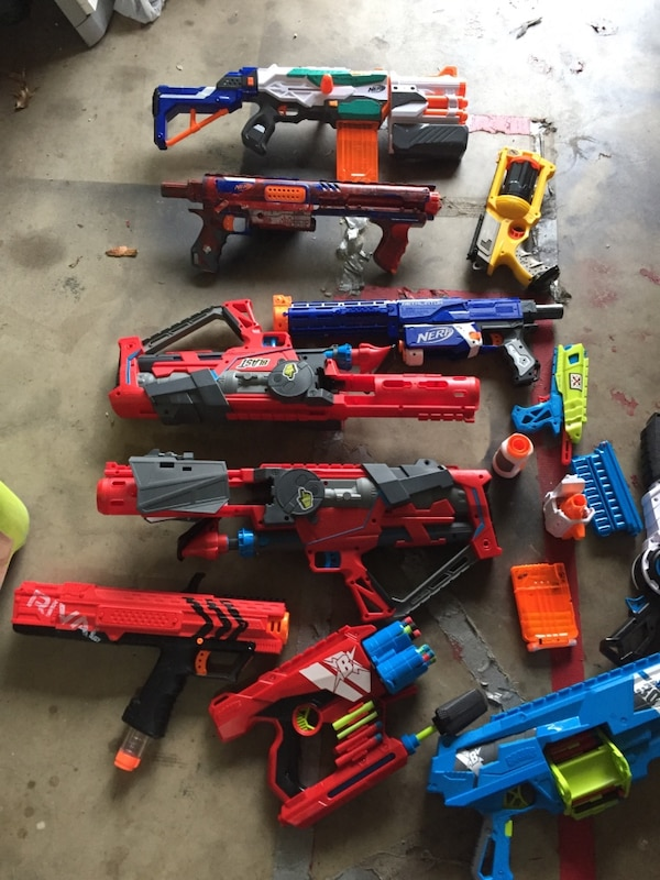 $75!!Nerf and boomco lot (with ammo) 02479a30-eb97-4bbe-881e-8d19854bcdf6