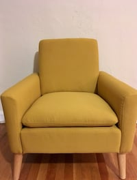 Brand new mustard-yellow accent chair Washington, 20009