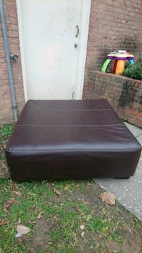 Large Faux leather Chocolate color Brown Ottoman  Bethesda, 20814