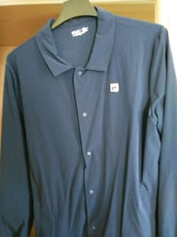 gray button-up long-sleeved shirt Frederick, 21703