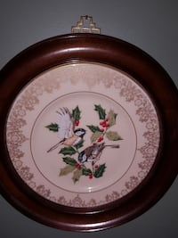 Lenox plate with solid cherry wood frame Fredericksburg, 22407