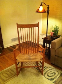 brown wooden windsor rocking chair Hyattsville
