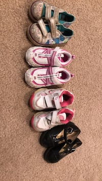 Size 5 toddler shoes Commerce City, 80022