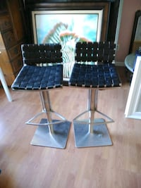 Black Leather Stools  Fort Myers, 33967