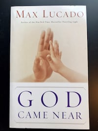 """""""God Came Near"""" by Max Lucado (Paperback) Leesburg, 20175"""