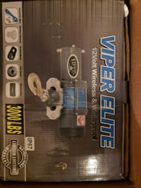 VIPER Elite 3000lb ATV/UTV Winch w/ 40 feet BLUE  Greenbelt, 20770