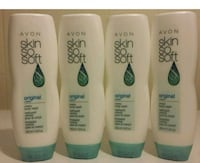 Skin so Soft Original Body Wash+jojoba Lot of 4  Stafford, 22554